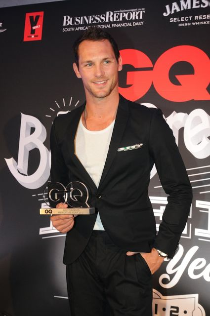 Ty Keogh GQ Magazine Award
