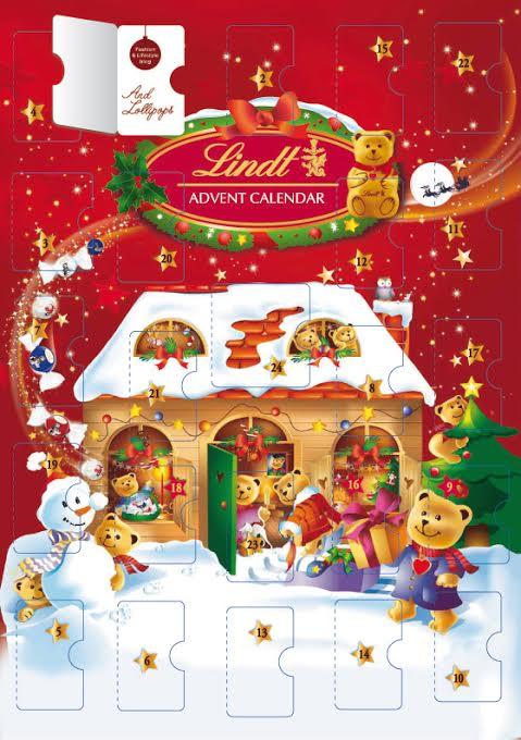 Lindt Advent Calendar Gallery
