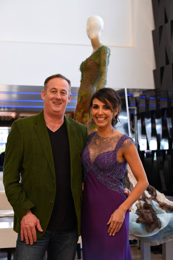 Adrian with Susanna Kennedy